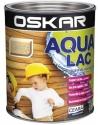 Lac pentru lemn Oskar Aqua, Incolor