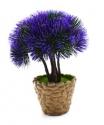 Aranjament flori artificiale in ghiveci, mov