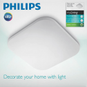 Plafoniera LED integrat Philips Mauve, 17W, 2000 lm, 4000K