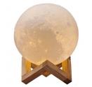 Difuzor de aroma terapie, lampa de veghe luna, 300ml, ultrasonic, RGB, dezumificator, Urban Trends