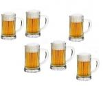 Set 6 halbe de bere