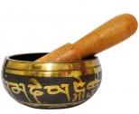 Bol Tibetan cantator, set pentru purificarea spatiului si apei