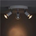 Plafoniera Zola alba cu 3 lampi, soclu GU10, putere maxima 3 x 50 W