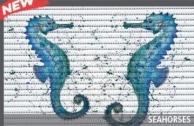 Covoras baie Friedola Seahorses antiderapant