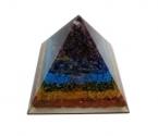 Piramida Orgonica, protectie wi-fi, radiatii electromagnetice, 7 chakre, spirala Reiki