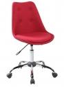 Scaun de birou ergonomic Kring Shape, Rosu