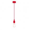 Lampă suspendată Rabalux 1414 Roxy, roşu