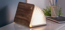 Lampa Led Smart Book Light Large Walnut
