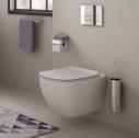 Set vas wc suspendat Ideal Standard Tesi Aquablade cu capac slim softclose